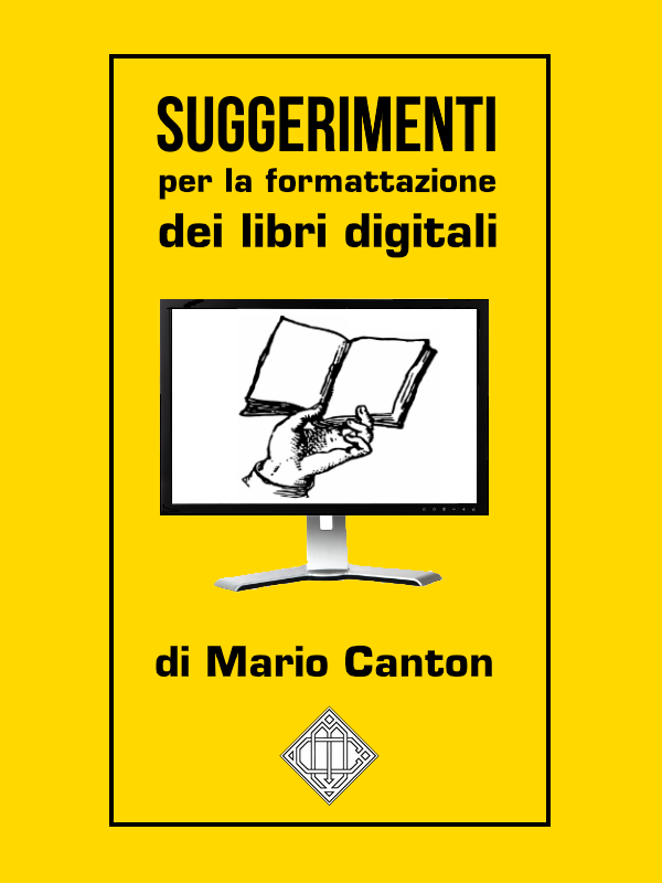 Suggerimenti per la formattazione dei libri digitali