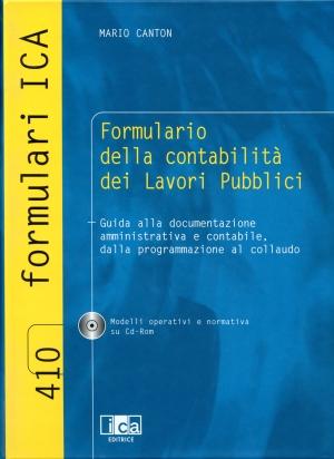 Formulario della Contabilità dei Lavori Pubblici