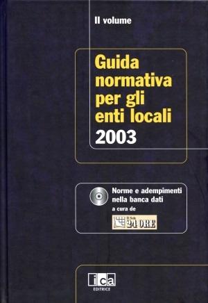 Guida Normativa per gli Enti Locali 2003