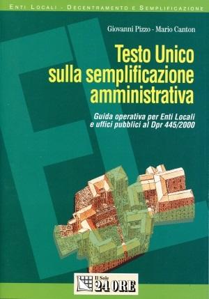 Testo Unico sulla Semplificazione Amministrativa