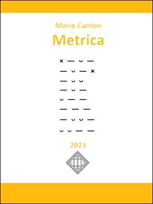 Metrica. Prosodia e versificazione.